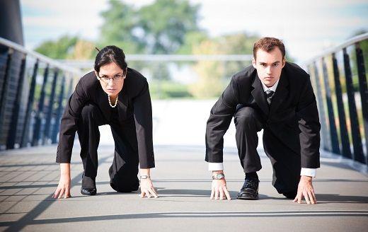 мужчины и женщины на финансовом рынке