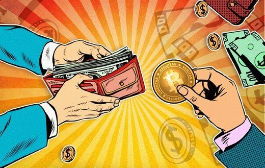 обналичивание биткоина